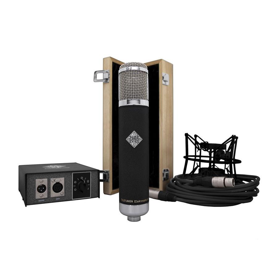 ไมโครโฟนสำหรับบันทึกเสียง ยี่ห้อ Telefunken รุ่น AK47 MKII