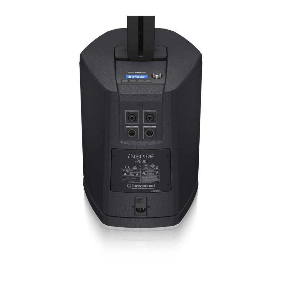 ชุดเครื่องเสียงเคลื่อนที่ ยี่ห้อ Turbosound รุ่น iNSPIRE iP500 V2