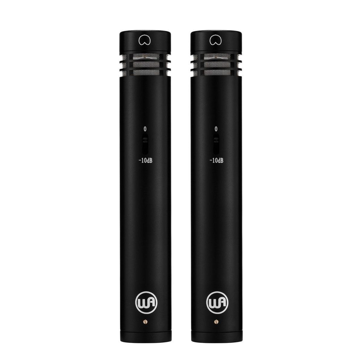 ไมค์อัดเสียง ยี่ห้อ Warm Audio รุ่น WA-84 Black Stereo Pair