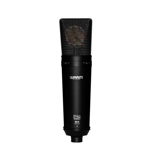 ไมค์อัดเสียง ยี่ห้อ Warm Audio รุ่น WA-87 Black Condenser