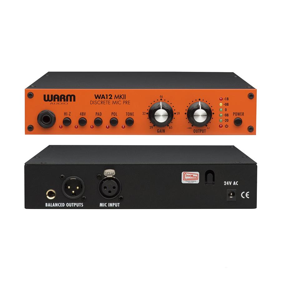 ปรีไมค์สำหรับบันทึกเสียง ยี่ห้อ Warm Audio รุ่น WA12 MKII