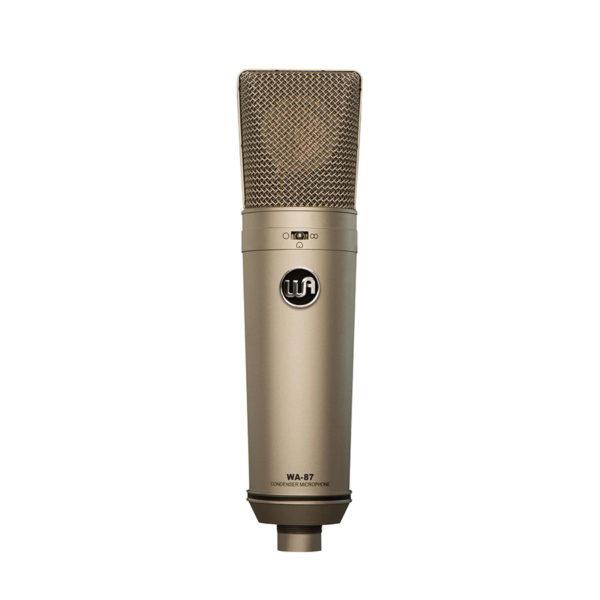 ไมค์อัดเสียง ยี่ห้อ Warm Audio รุ่น WA-87 Multi-Pattern
