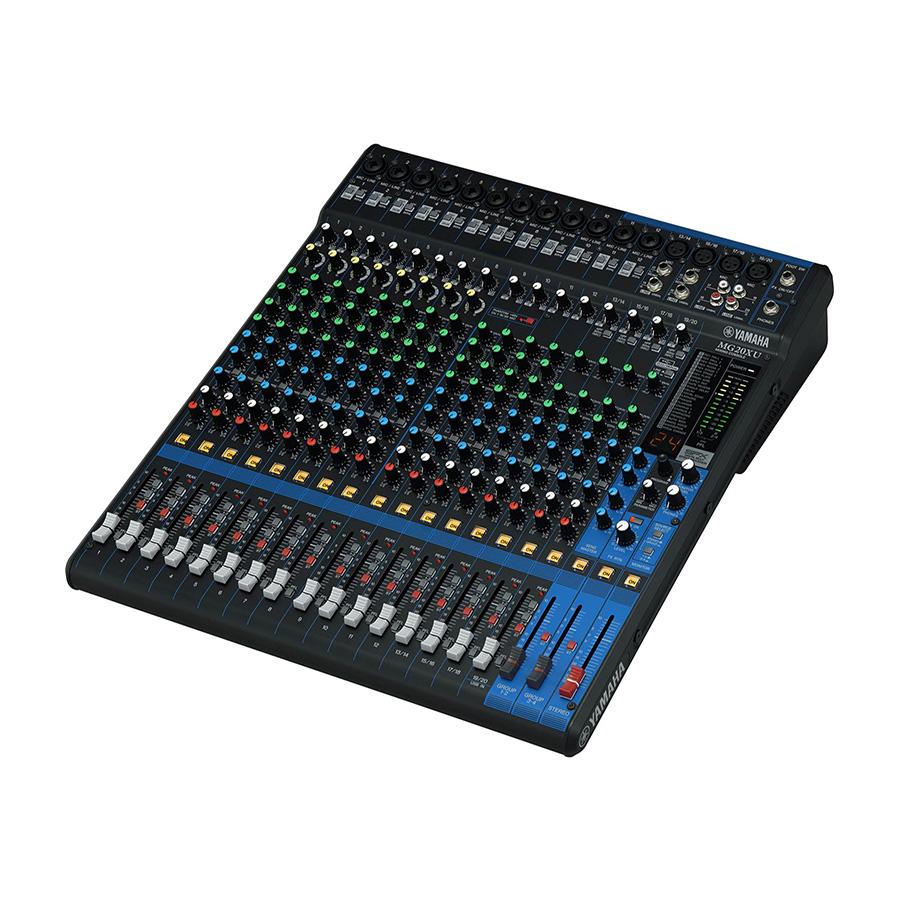 อนาล็อกมิกเซอร์ YAMAHA MG20Xu Mixer Built-In FX
