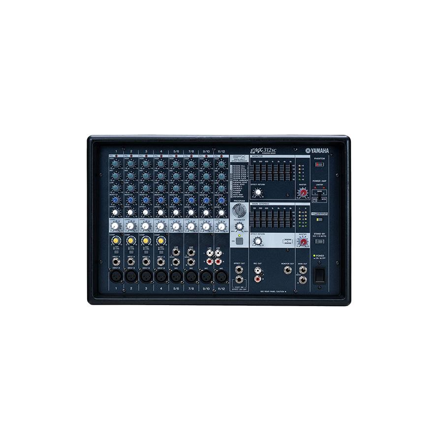 เพาเวอร์มิกเซอร์ YAMAHA EMX312SC Powered Mixer