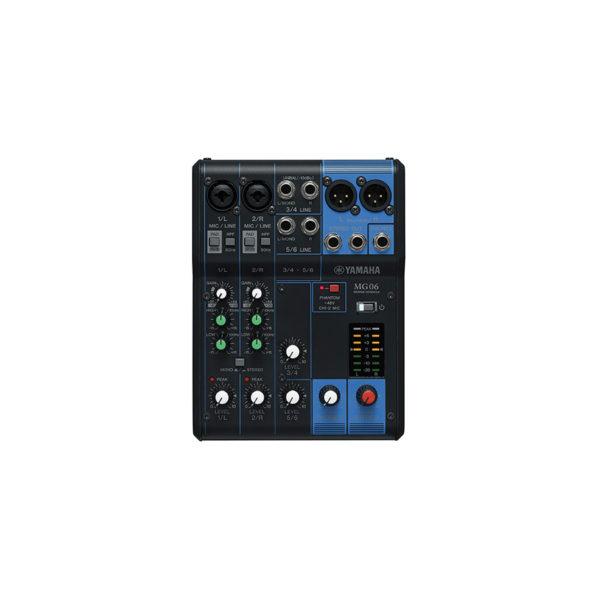 อนาล็อกมิกเซอร์ YAMAHA MG06 6-Input Analog Mixer