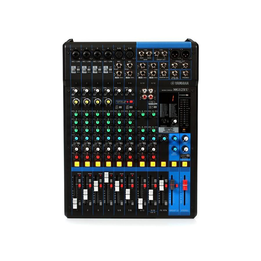 อนาล็อกมิกเซอร์ YAMAHA MG12Xu Mixer Built-In FX