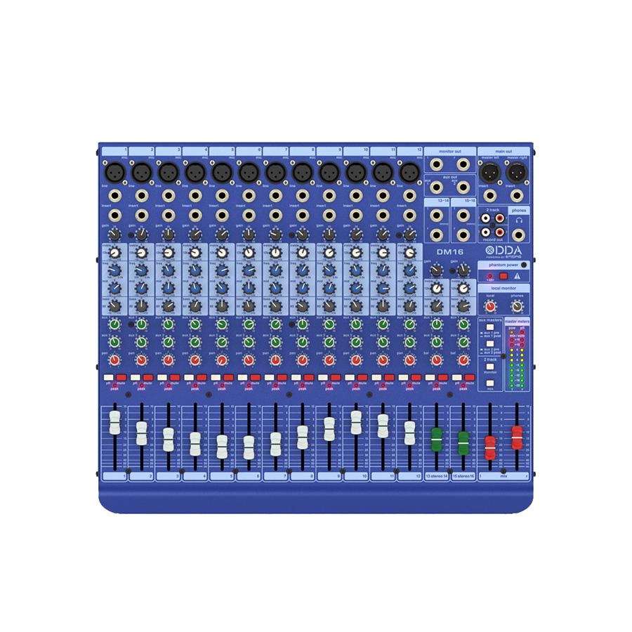 อนาล็อกมิกเซอร์ MIDAS DDA DM16 Analog Mixer