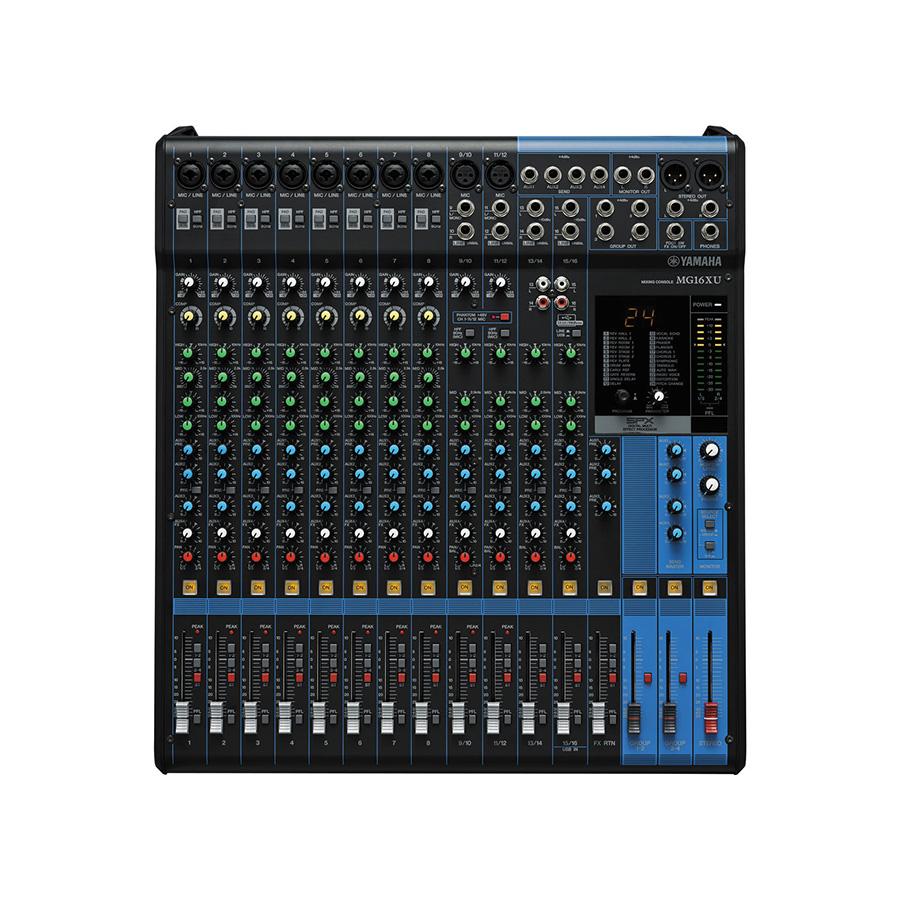 อนาล็อกมิกเซอร์ YAMAHA MG16Xu Mixer Built-In FX