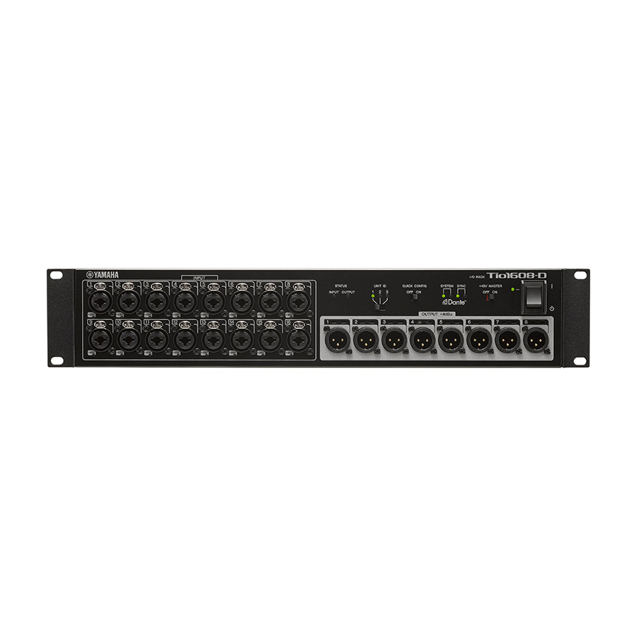 สเตจบ๊อก Yamaha Tio1608-D Digital Stage Box with Dante