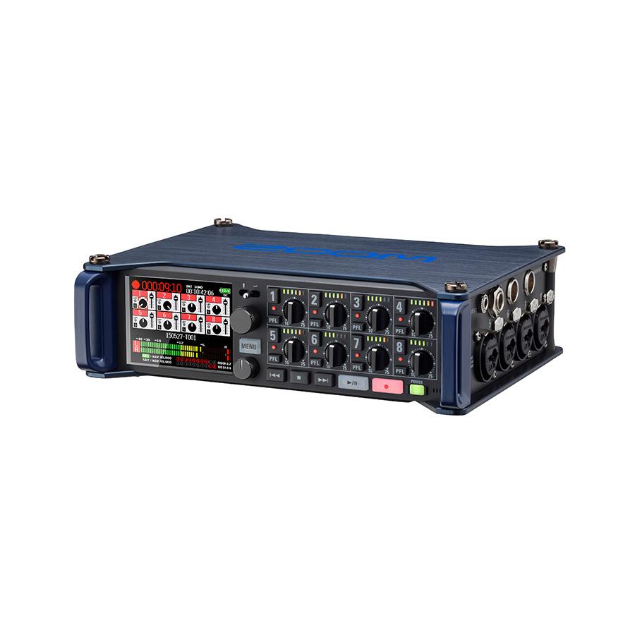 เครื่องบันทึกเสียง ยี่ห้อ Zoom รุ่น F8 Multi-Track Recorder