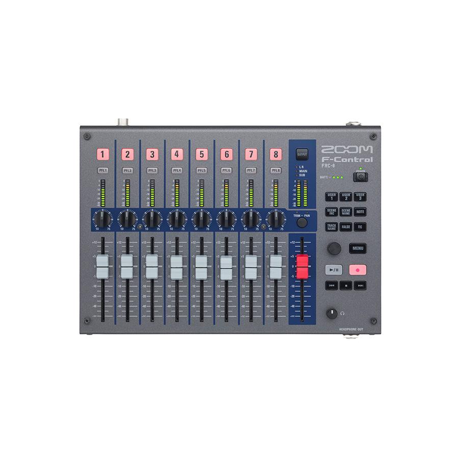 ดิจิตอลมิกเซอร์พร้อมบันทึกเสียง ยี่ห้อ Zoom รุ่น FRC8