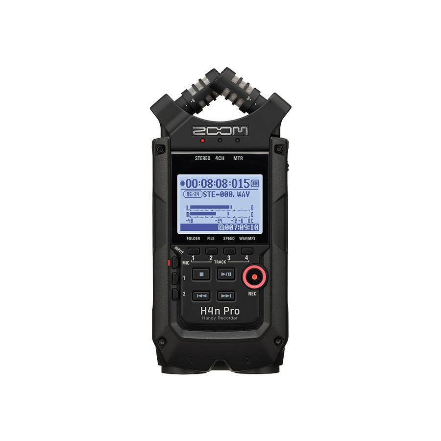 เครื่องบันทึกเสียงแบบดิจิตอล ยี่ห้อ Zoom รุ่น H4n Recorder