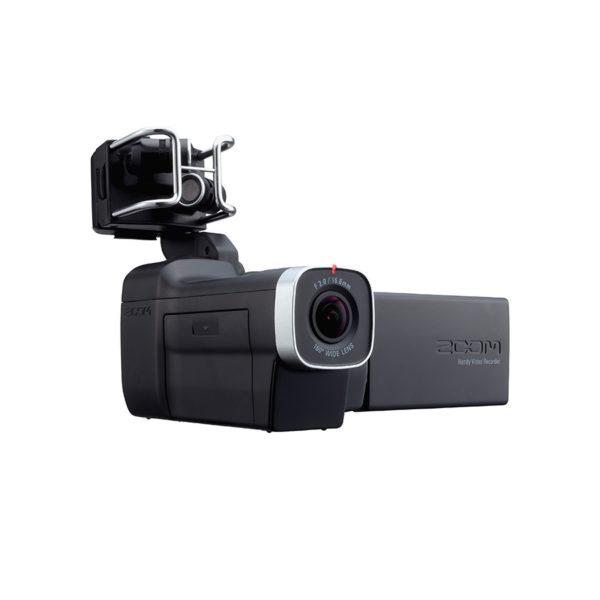 กล้องวีดีโอบันทึกภาพและเสียง ยี่ห้อ Zoom รุ่น Q8 Handy Video Recorder