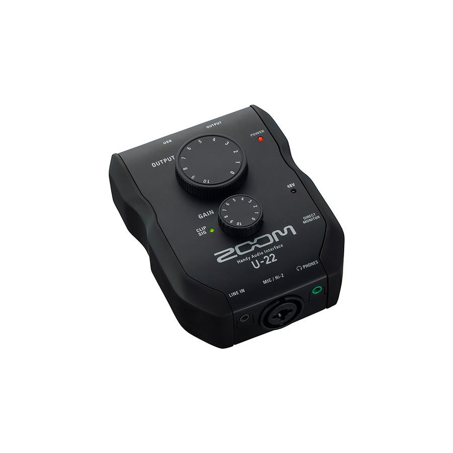 ออดิโออินเตอร์เฟส ยี่ห้อ Zoom รุ่น U-22 Interface