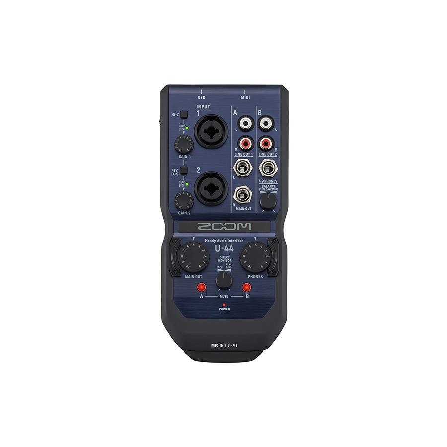 ออดิโออินเตอร์เฟส ยี่ห้อ Zoom รุ่น U-44 Interface