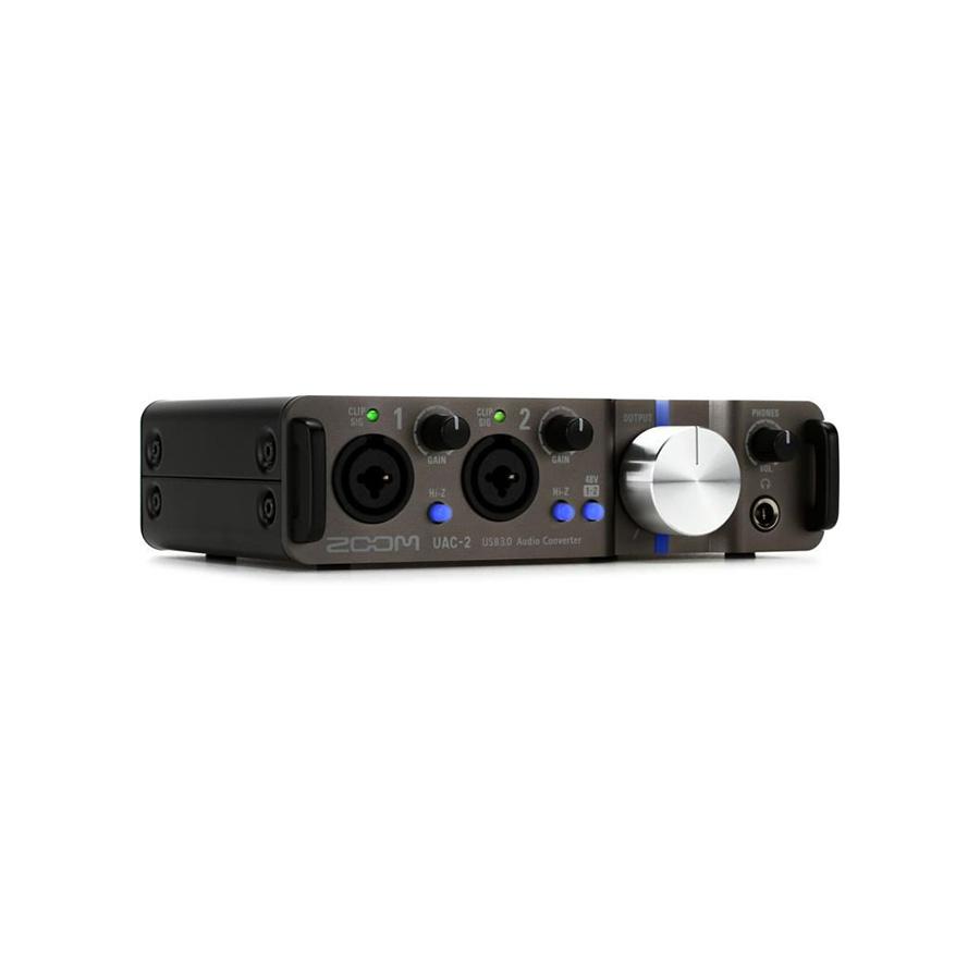 ออดิโออินเตอร์เฟส ยี่ห้อ Zoom รุ่น UAC-2 Audio Interface