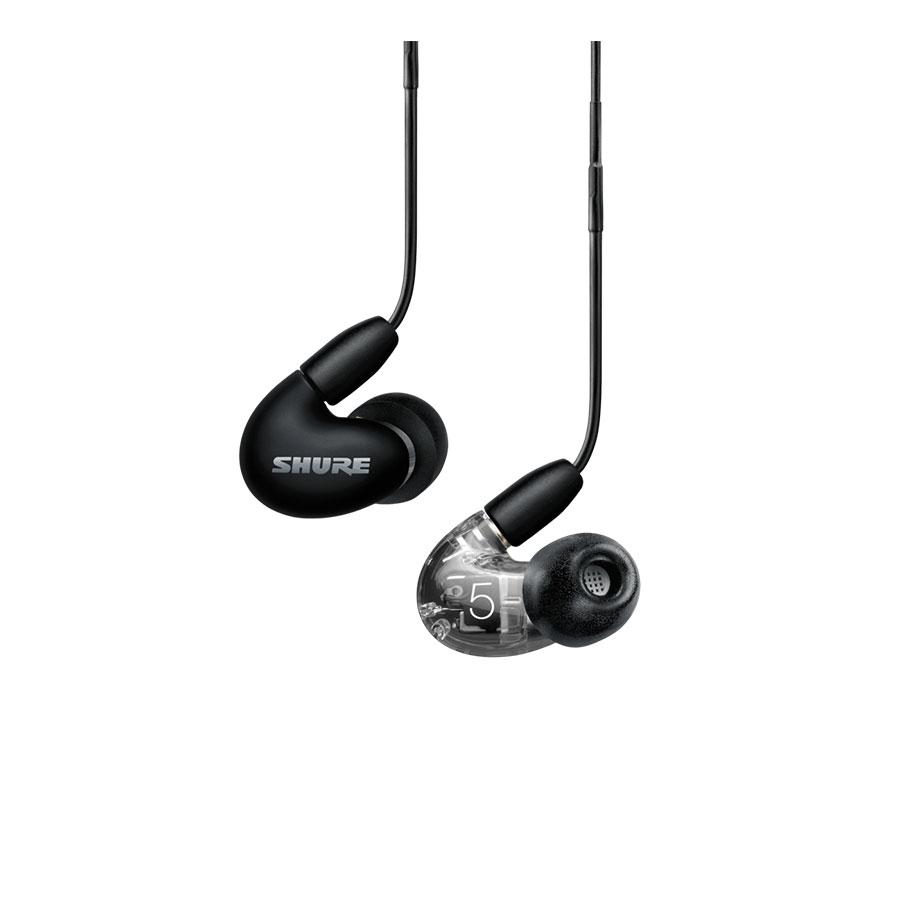 SHURE AONIC 5 Sound Isolating™ Earphones หูฟังอินเอียร์ พร้อมไมโครโฟนและรีโมท