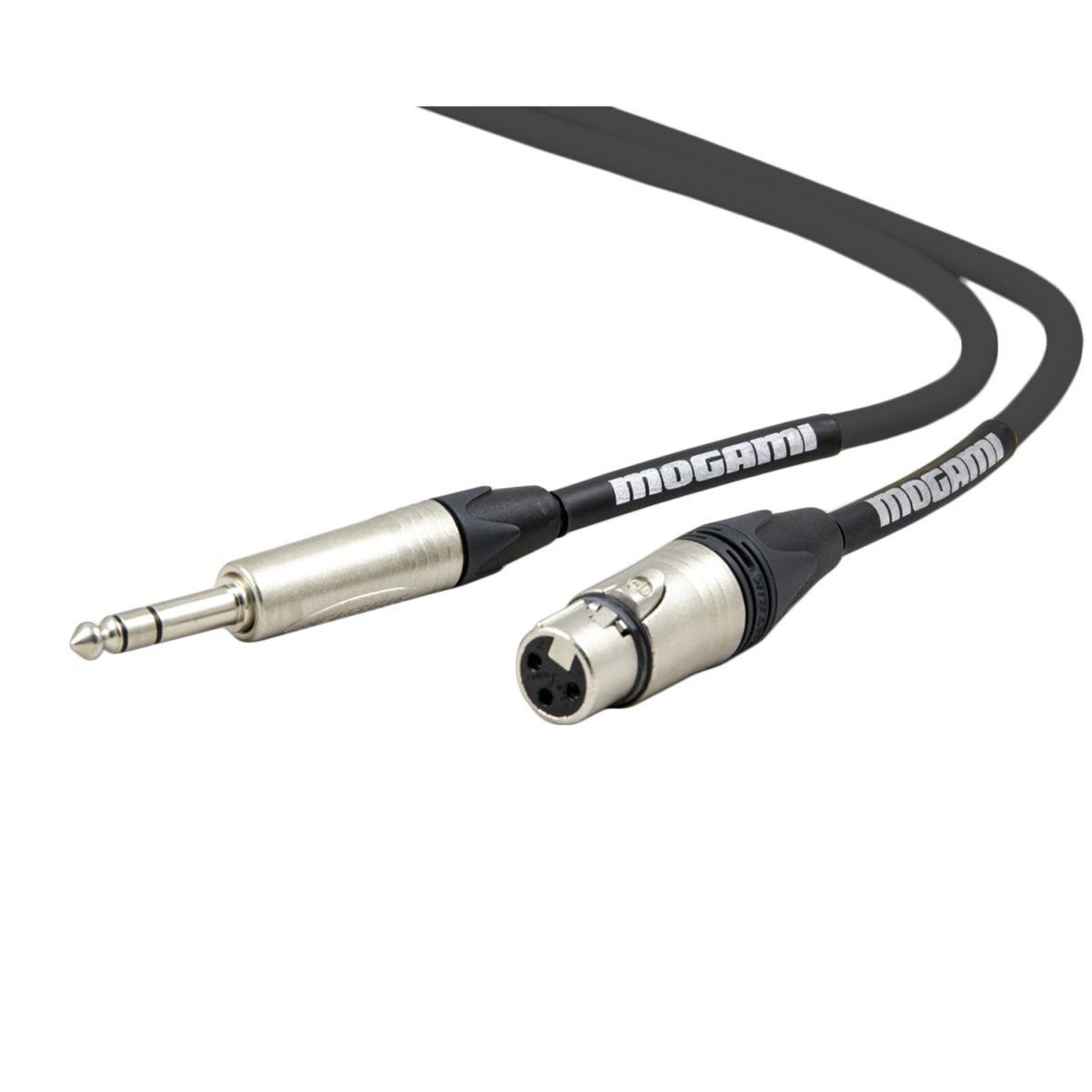 MOGAMI 2534 XLRF-TRS Studio Accessory Cable uses the high-quality 2534