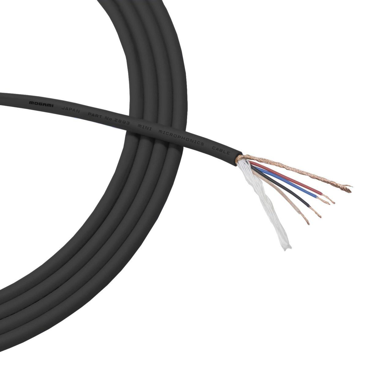MOGAMI 2893 Quad Cable สายสัญญาณสำเร็จรูป (ราคาต่อ 1 เมตร)