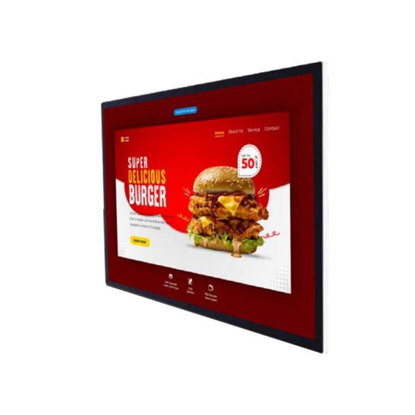Razr KW-43A Kiosk Digital Signage จอภาพดิจิทัลติดผนัง