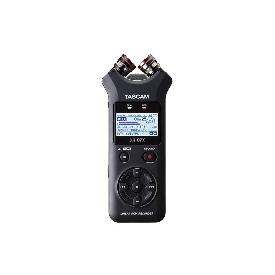 TASCAM DR07X Stereo Handheld Digital Recorder เครื่องบันทึกเสียง