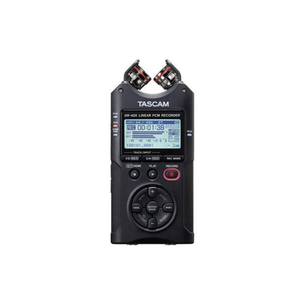 TASCAM DR40X 4-Track Digital Audio Recorder เครื่องบันทึกเสียง