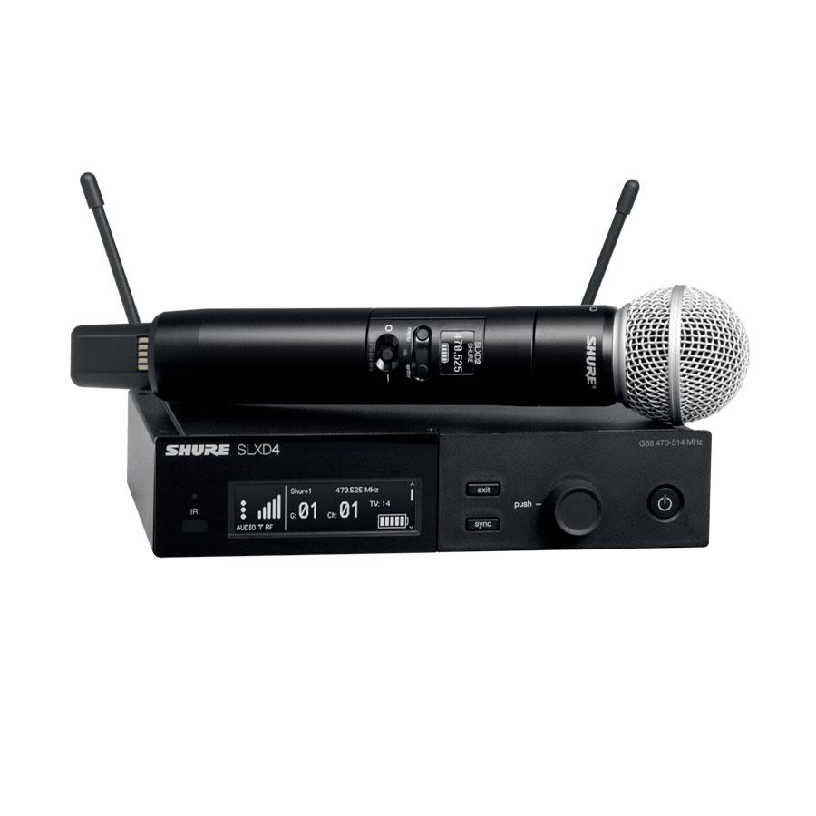 Shure SLXD24A/SM58-M55 ไมโครโฟนไร้สายแบบมือถือเดี่ยว