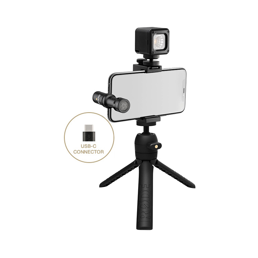 RODE VLOGGER KIT USB Type-C Ports ชุดถ่ายวิดีโอสำหรับมือถือ